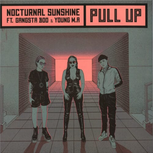 Nocturnal Sunshine/Gangsta Boo/Young Ma - Pull Up - IAMME026LP - I AM ME RECORDS