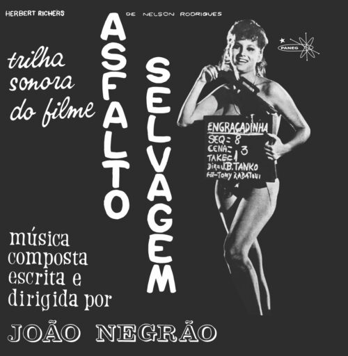 Joao Negrao - Asfalto Selvagem - MAR031 - MAD ABOUT RECORDS