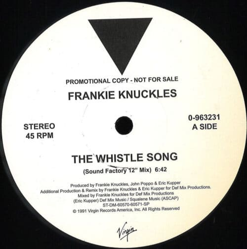 Frankie Knuckles - The Whistle Song - 96323 - VIRGIN