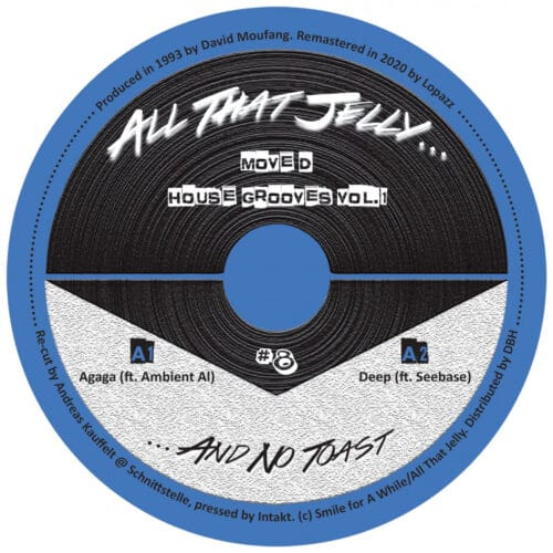 Move D - House Grooves Vol 1 - ATJ008 - ALL THAT JELLY