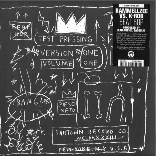 Rammellzee/K-Rob - Beat Bop - MRB12046 - MR BONGO