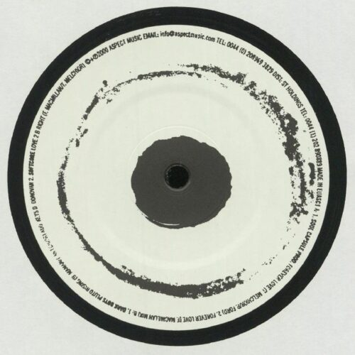 Soul Capsule Productions / Dark Boys / Softcore - Forever Love - ASC1 - ASPECT