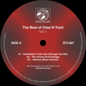 Ron Trent/Chez Damier/Various - The Best of Chez N Trent vol. 1 - BTL007 - BACK TO LIFE