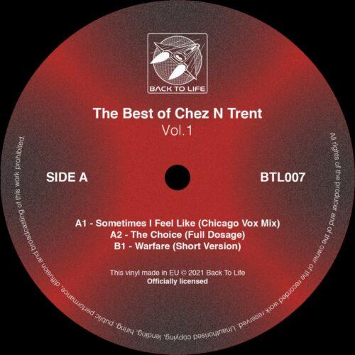 Ron Trent/Chez Damier/Various - The Best of Chez N Trent vol. 1 - BTL007 - BACK TO LIFE
