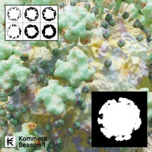 Various - Kommerz Season 1: Anti Virus - KOM001 - KOMMERZ RECORDS