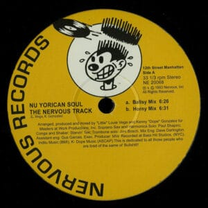 Nu Yorican Soul - Nervous Track (Limited Yellow) - NE20068YELLOW - NERVOUS RECORDS