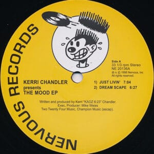 Kerri Chandler - Mood EP (Yellow) - NE20136YELLOW - NERVOUS RECORDS
