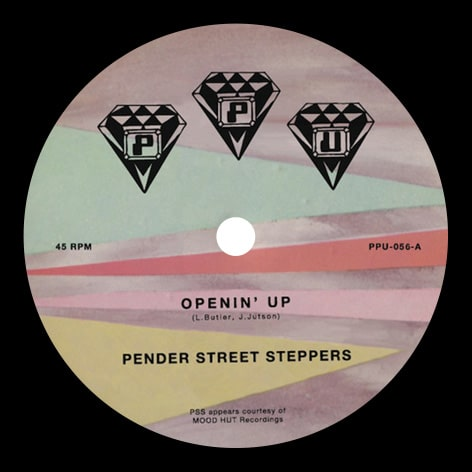 Pender Street Steppers - Openin' Up - PPU-056 - PEOPLES POTENTIAL UNLIMITED