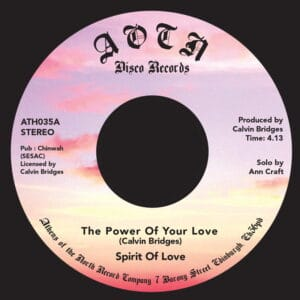 Spirit Of Love - The Power Of Love - ATH035 - ATHENS OF THE NORTH