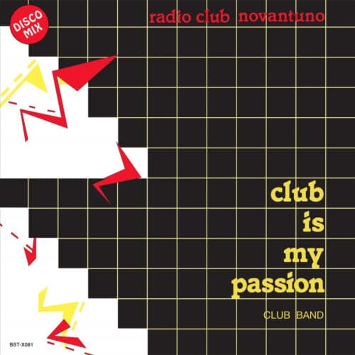 Club Band - Club Is My Passion - BSTX081 - BEST RECORD