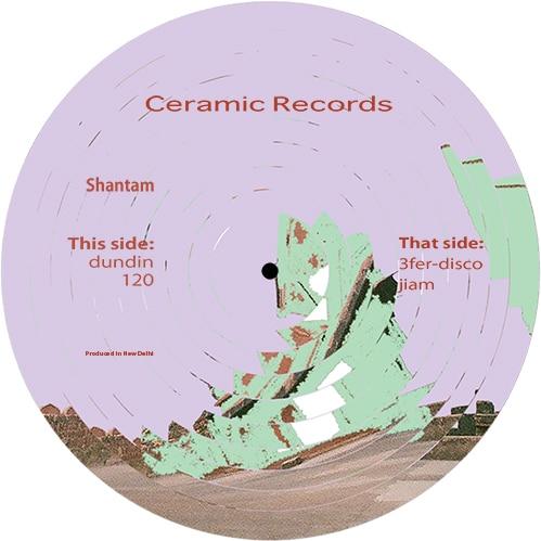 Shantam - 3fer-disco - C-002 - CERAMIC RECORDS