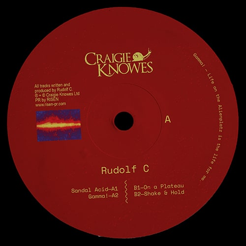Rudolf C - Gamma! - CKNOWEP29 - CRAIGIE KNOWES