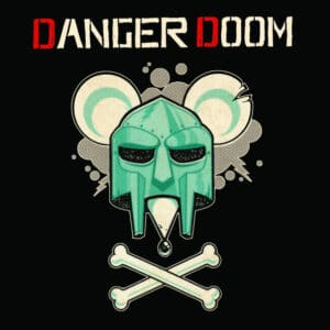 Dangerdoom/M.F Doom/Danger Mouse - The Mouse & The Mask (Official Metalface Version) - MFR104 - METALFACE