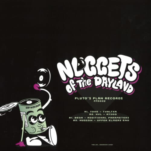 Various Artists - Nuggets Of The Dryland - PPR002 - PLUTO'S PLAN