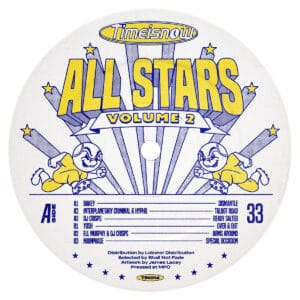 Various - Time Is Now Allstars Volume 2 - TIN014 - TIME IS NOW