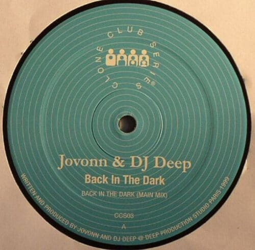 Jovonn/DJ Deep - Back In The Dark - CCS003 - CLONE