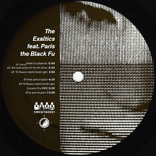 The Exaltics/Paris The Black Fu - Dis turb ance int he tim eline - CWCS-TAOS01 - CLONE WEST COAST SERIES