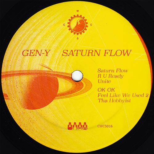 Gen-Y - Saturn Flow - CWCS016 - CLONE WEST COAST SERIES