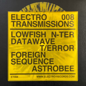 Various Artists - Electro Transmissions 008 - Xtermination Krew - ER-ET008 - ELECTRO RECORDS