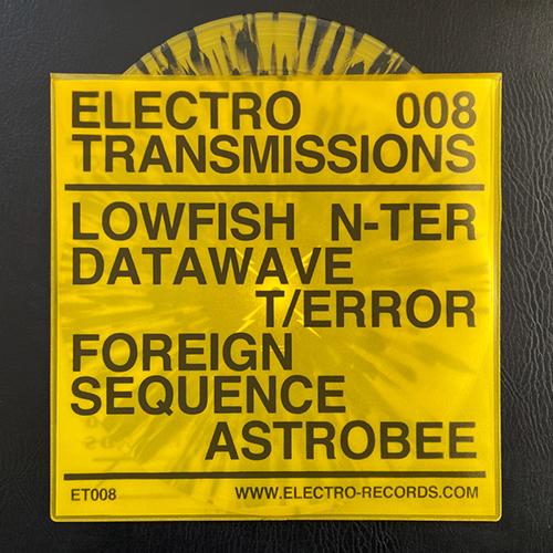 Various Artists - Electro Transmissions 008 - Xtermination Krew - ER-ET008 - ELECTRO RECORDS