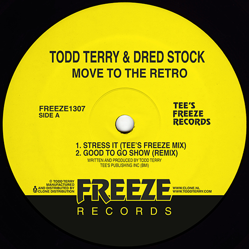Todd Terry - Move To The Retro - FREEZE1307 - FREEZE RECORDS