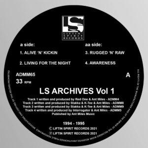Various - LS Archives Vol 1 (1994/1995) - ADMM65 - LIFTIN SPIRT RECORDS