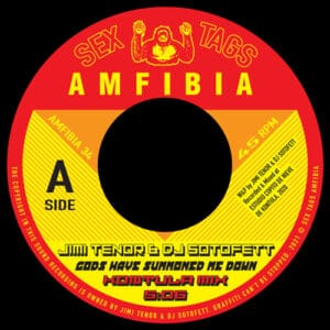 Jimi Tenor/DJ Sotofett - Gods Have Summoned Me Down - AMFIBIA34 - SEX TAGS AMFIBIA