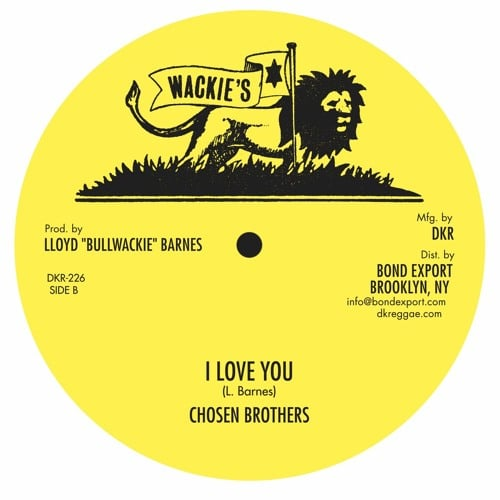 Chosen Brothers - Child Of Slave/I Love You - DKR226 - DIGIKILLER