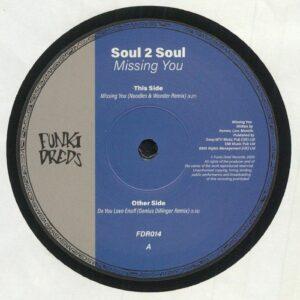 Soul II Soul - Missing You (Noodles & Wonder Remix) - FDR14 - FUNKI DRED RECORDS