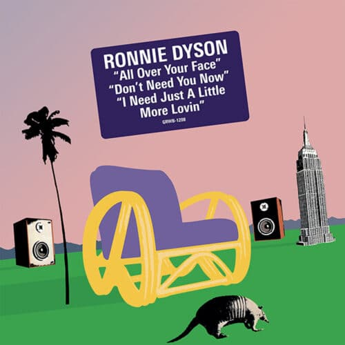 Ronnie Dyson - All Over Your Face - GRWB-1208 - GROOVIN RECORDS