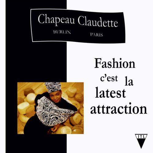 Chapeau Claudette - Fashion C'est La Latest Attraction - ITLINTL07 - INTO THE LIGHT