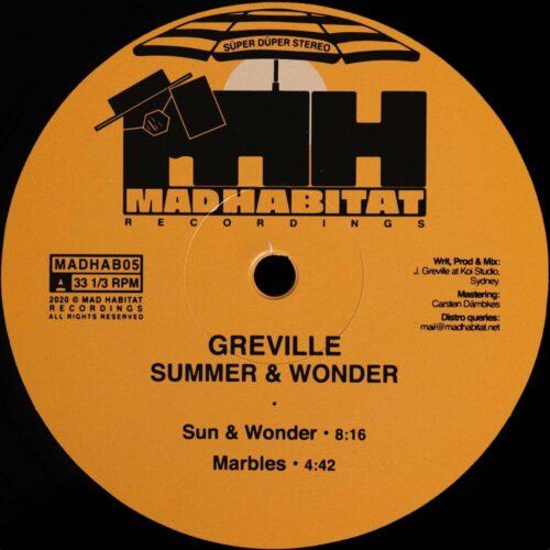 Greville - Summe & Wonder - MADHAB05 - MAD HABITAT