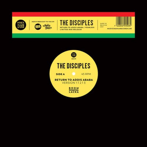 The Disciples - Return to Addis Ababa / Fearless - MD019 - MANIA DUB