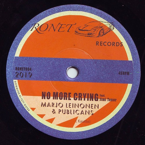 Marjo Leinonen/Publicans/Jimi Tenor - No More Crying - RONET-004 - RONET RECORDS