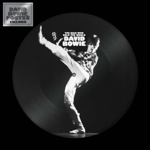 David Bowie - The Man Who Sold The World (Picture Disc) - 190295132934 - WARNER