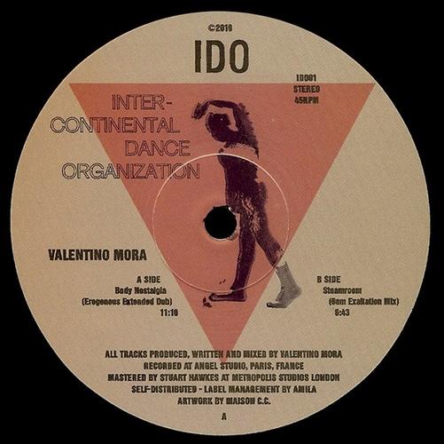 Valentino Mora - Body Nostalgia EP - IDO01 - IDO