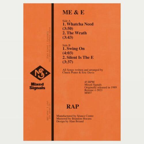 Me/E - Rap - MS07 - MIXED SIGNALS