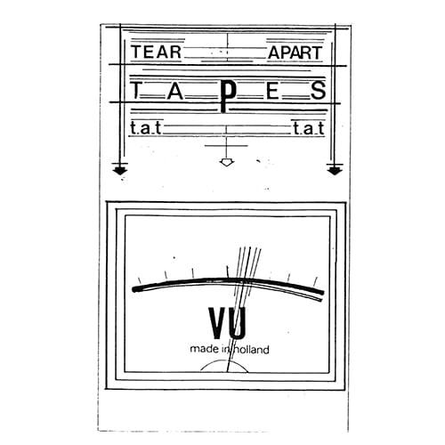 Das Ding/Les Yeux Interdits/Ian Martin - Tear Apart Tapes (the 7-inches) - RESLP008 - FUTURA RESISTENZA