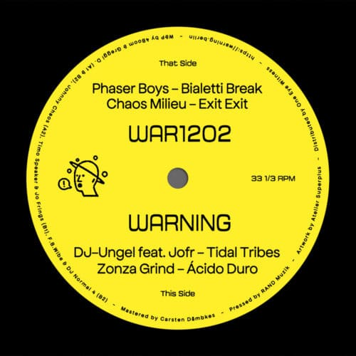 Various - WAR1202 - WAR1202 - WARNING