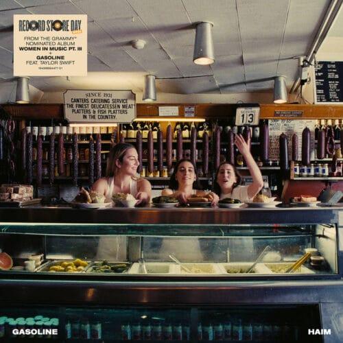 Haim/Taylor Swift - Gasoline ( Baby Blue Vinyl) - 602435752211 - POLYDOR