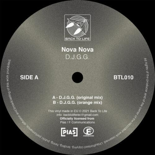 Nova Nova - D.J.G.G. - BTL010 - BACK TO LIFE