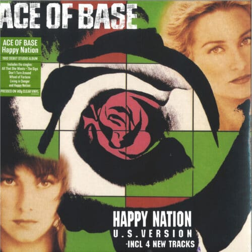 Ace Of Base - Happy Nation - DEMREC845 - DEMON RECORDS
