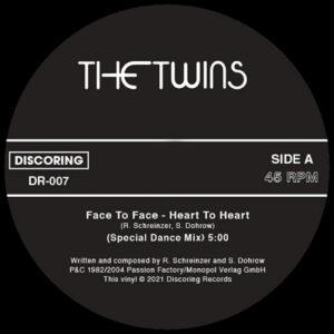 The Twins - Face To Face / Ballet Dancer - DR-007 - DISCORING RECORDINGS