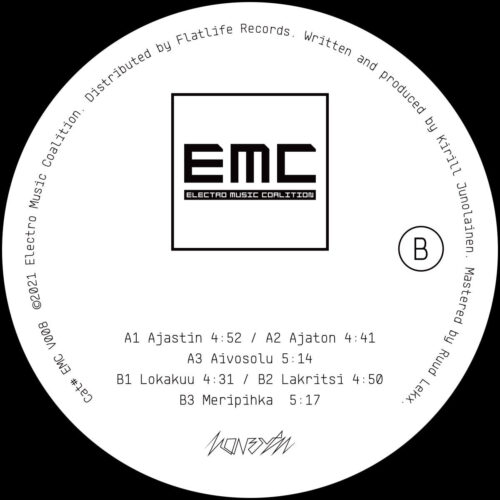 Konerytmi - Happolaatikko EP - EMCV008 - ELECTRO MUSIC COALITION