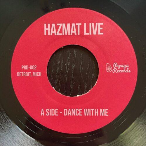 Hazmat - Dance With Me / 1983 - PRD-002 - PAPAYA RECORDS