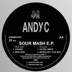 Andy C - Sour Mash EP - RAMM001EP2 - RAMM RECORDS