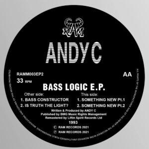 Andy C - Bass Logic EP - RAMM003EP2 - RAMM RECORDS