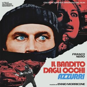 Ennio Morricone - Il Bandito Dagli Occhi Azzurri (Transparent Blue) - 8024709211729 - VERVE