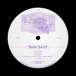 Alfredo Romero - Bottle Job EP - DSD027 - DANSU DISCS