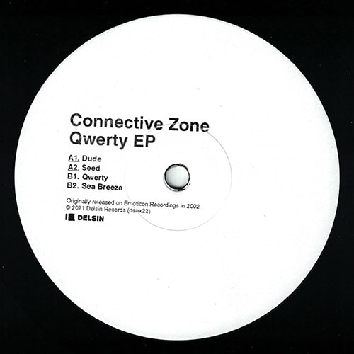 Connective Zone - Qwerty EP - DSR-X22 - DELSIN